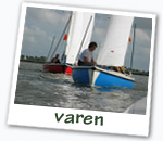 watersport op de meren rond Eastermar